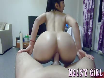 asian girlfriend gets ass fucked